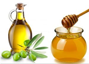 Мед и оливковое масло