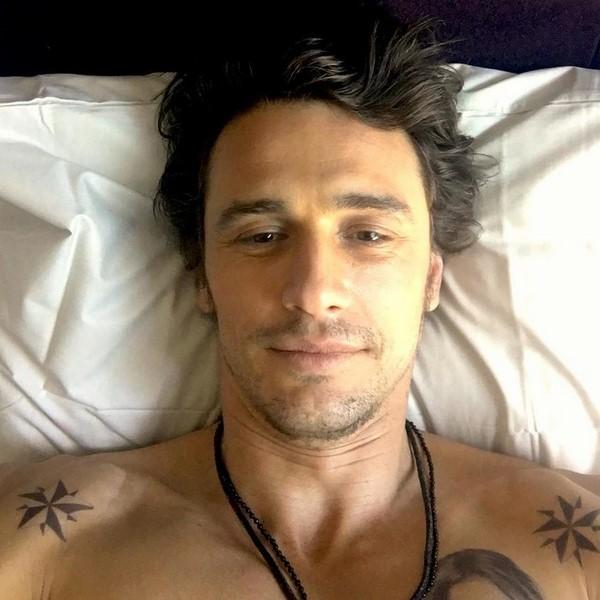 Звезды в постели: актер Джеймс Франко выглядит утром так